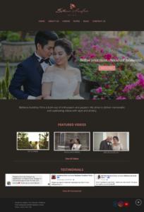 Bethena new homepage design