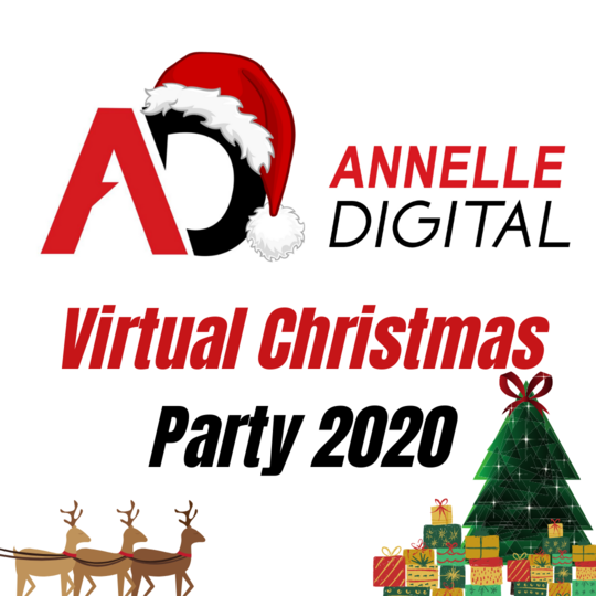 Annelle Digital Virtual Christmas Party 2020